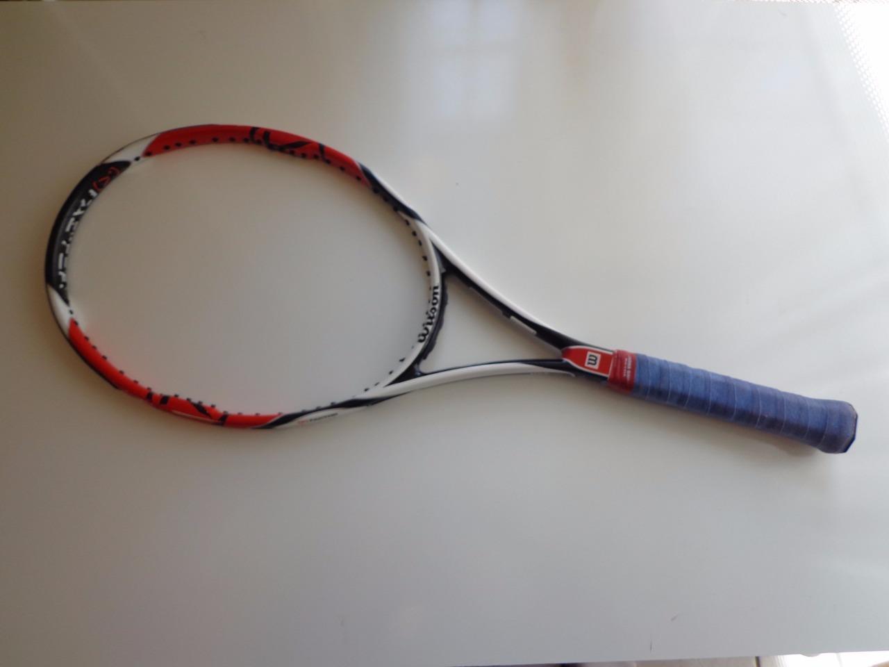 Wilson K 95 Factor six-one 16x18 4 5 8 grip Tennis Racquet