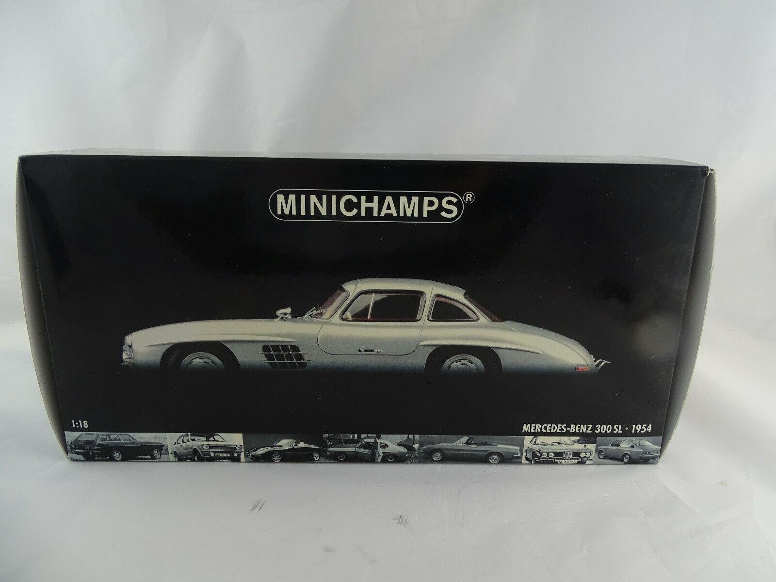 1 18 Minichamps  180039000 Mercedes Benz 300 Sl 1954 Gullwing in Conf. Orig. §