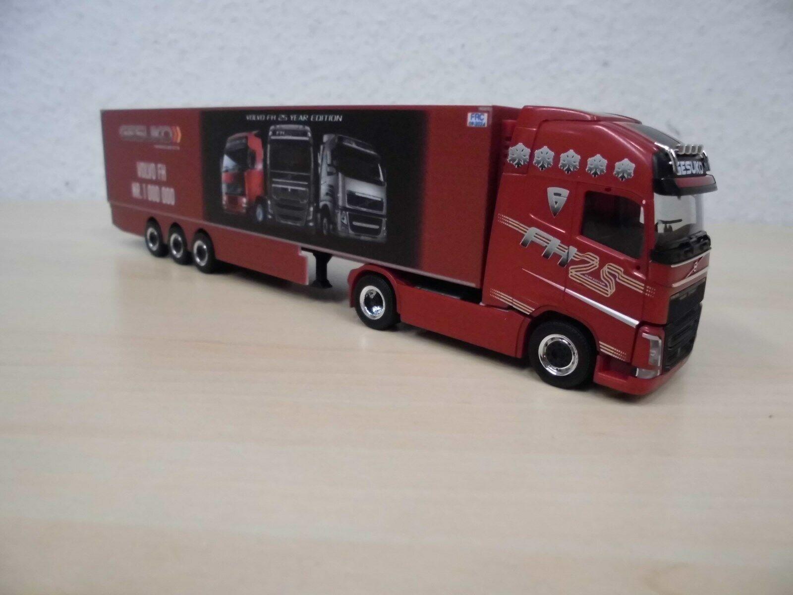 "306485-1:87 - Nr Herpa Volvo FH`13 GL XL GaPlSZ /""Hayton Coulthard/"" GB"