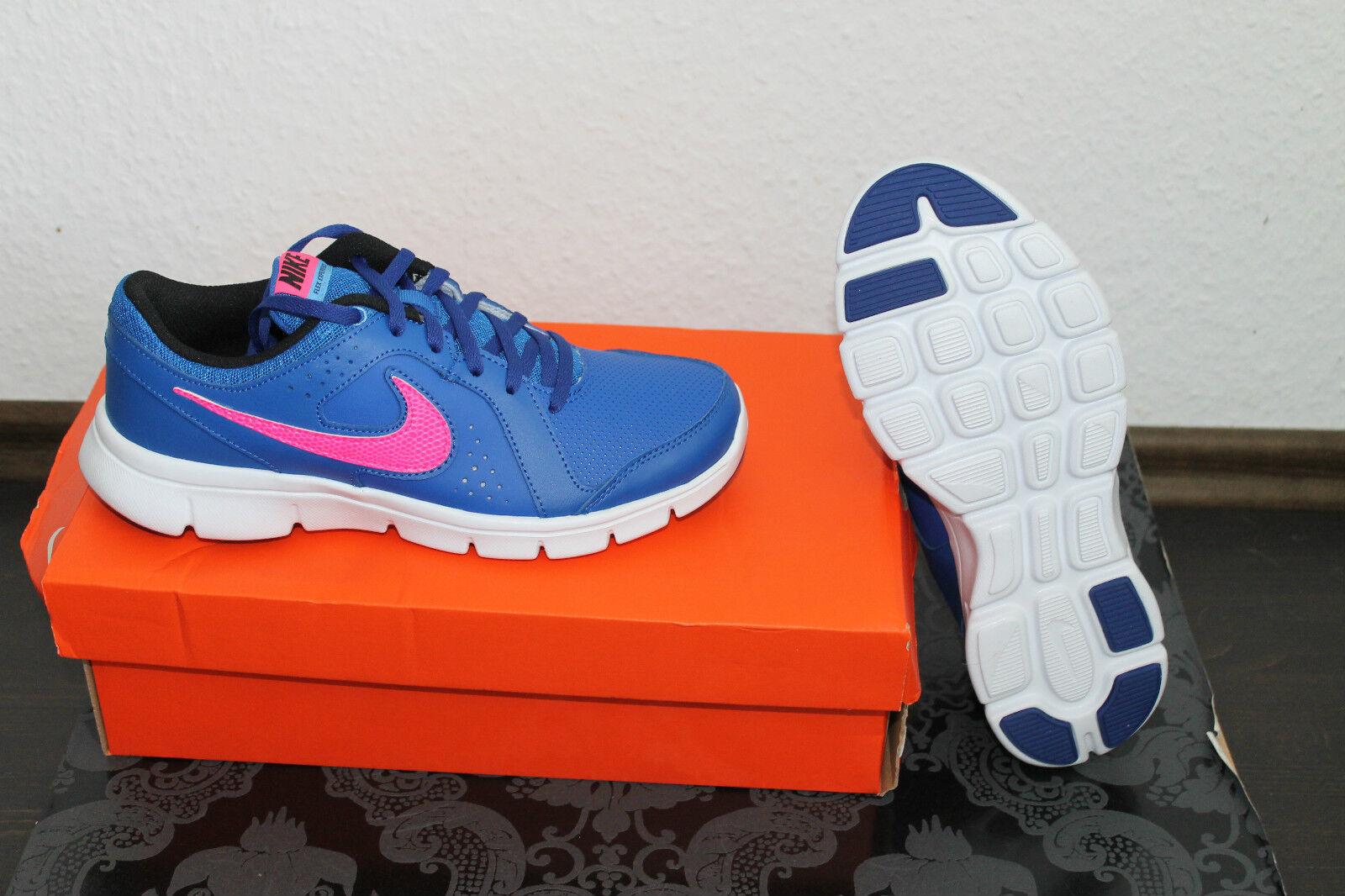 Nike Flex señora running zapato azul rosadodo rosadodo rosadodo tamaño 38 o 38,5 nuevo con caja de cartón  centro comercial de moda