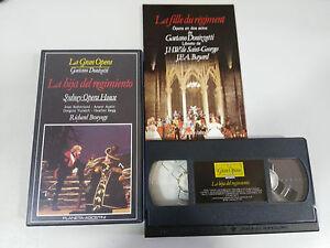 DONIZETTI-LA-HIJA-DEL-REGIMIENTO-SYDNEY-RICHARD-BONYNGE-VHS-TAPE-LA-GRAN-OPERA