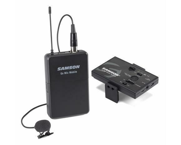 Samson SWGMMSLAV Digital Wireless Lavalier Microphone System for Smartphones