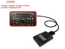 USB SD AUX adaptador cd del cambiador mp3 Suzuki Splash PACR 01 02 03 04 05 06 07 08 09