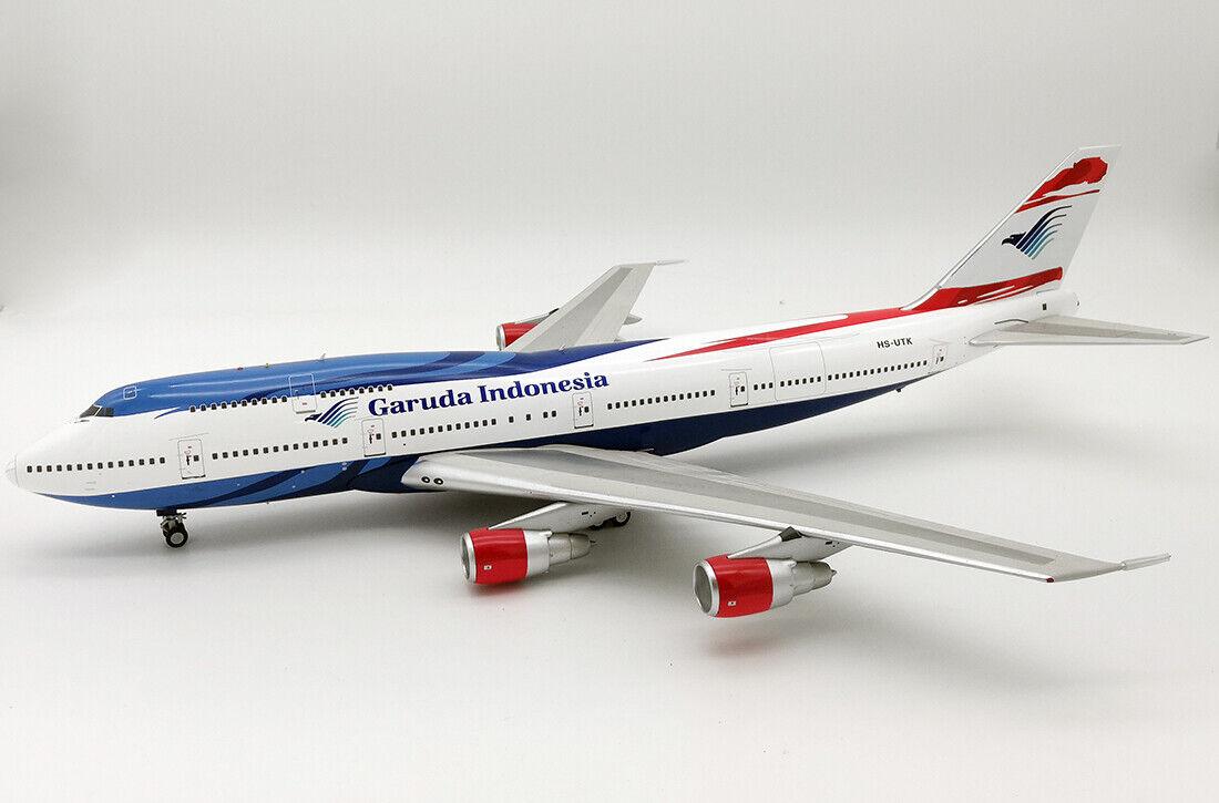 INFLIGHT 200 IF743GA1218 1 200 GARUDA INDONESIA BOEING 747-300 HS-UTK WITH STAND