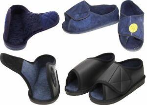 Open Toe Slippers mens ladies warm
