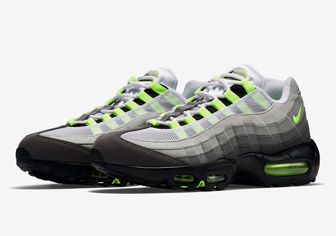 Size 15 - Nike Air Max 95 OG 2020 Neon