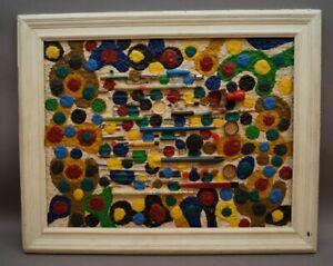 Peter M. Bauer (1946-2020) - Art Brut - Naive Kunst - Komposition Stifte PB38