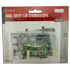 Velleman Dual Wht LED Stroboscope Electronic Kit MK147