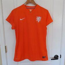Women's Nike Netherlands Oranje Holland Soccer Football Jersey KNVB Large