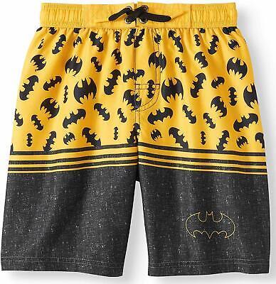 DC Comics Batman Little Boy Swim Trunks Shorts Size 6//7