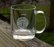"Starbuck Coffee Company 2 3/4"" Tall Glass Mug Doppio Solo Sample Luminarc 335998"