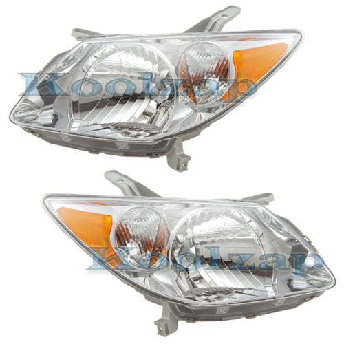 05-08 Vibe Headlight Headlamp Front Head Light Lamp Left /& Right Side Set PAIR