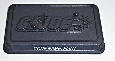 Base     2007 2008 2009 Flint GI Joe Figure Name Plate Display Stand