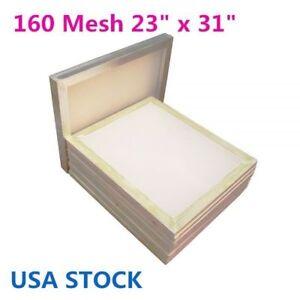 "6pcs 23""x31"" Aluminum Silk Screens Printing Screens With 160 White Mesh US Stock"