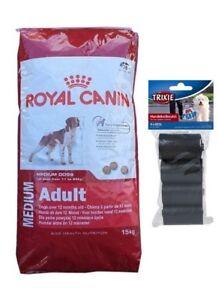 15kg Royal Canin Medium Nourriture pour chien adulte 80 pièces Kotbeutel