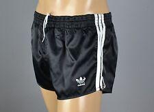ADIDAS Glanz Nylon Shorts!!!  Vintage Short Sporthose schwarz-Gr.:L-6  (1319)