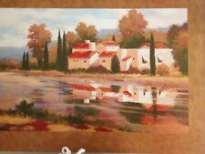 "Art Print: ""Village Reflections"". By Kanayo Ede. 24 X 36"