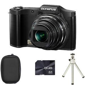 olympus stylus sz 14 digital camera black case 8gb card rh ebay ie olympus sz 14 manual focus olympus sz 14 mode d'emploi