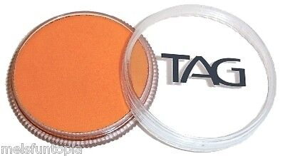 TAG Body Art 32g Pot Regular Orange Professional Face and Body Paint - Make up