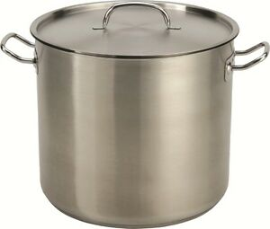 32-35-QT-Quart-Heavy-Tri-Ply-Base-Stainless-Steel-Stock-Pot-Beer-Brew-Gumbo-Stew