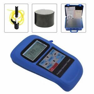 Metal Hardness Tester Leeb Hardness Tester Meter with Max Memory 500 Groups Data