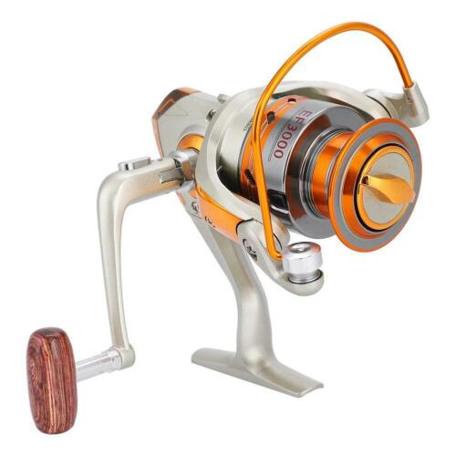 12BB Spinning Sea Fishing Reel EF500-EF9000 Arm Left//Right Handle Metal Spool