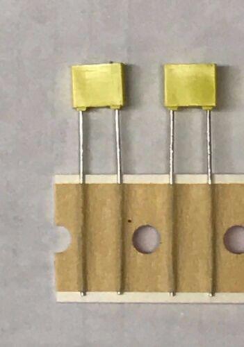 x5 .0082uF 100V 5/% Metallized Polyester Film Capacitor Radial Seacor MSKTB820JGN