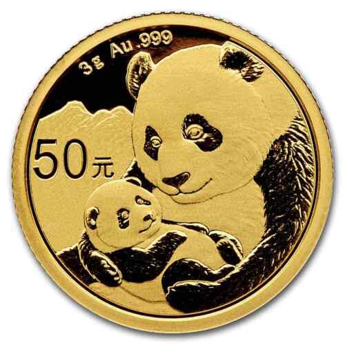 SKU#171153 2019 China 3 gram Gold Panda BU Sealed