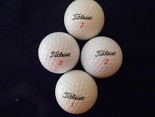 "20 TITLEIST - MIXED MODELS ""REFINISHED"" - Golf Balls - ""PEARL/A"" Grades."
