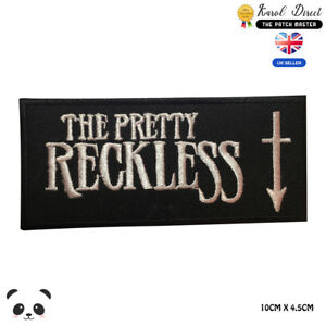 The-Pretty-Reckless-Music-Band-Embroidered-Iron-On-Sew-On-Patch-Badge