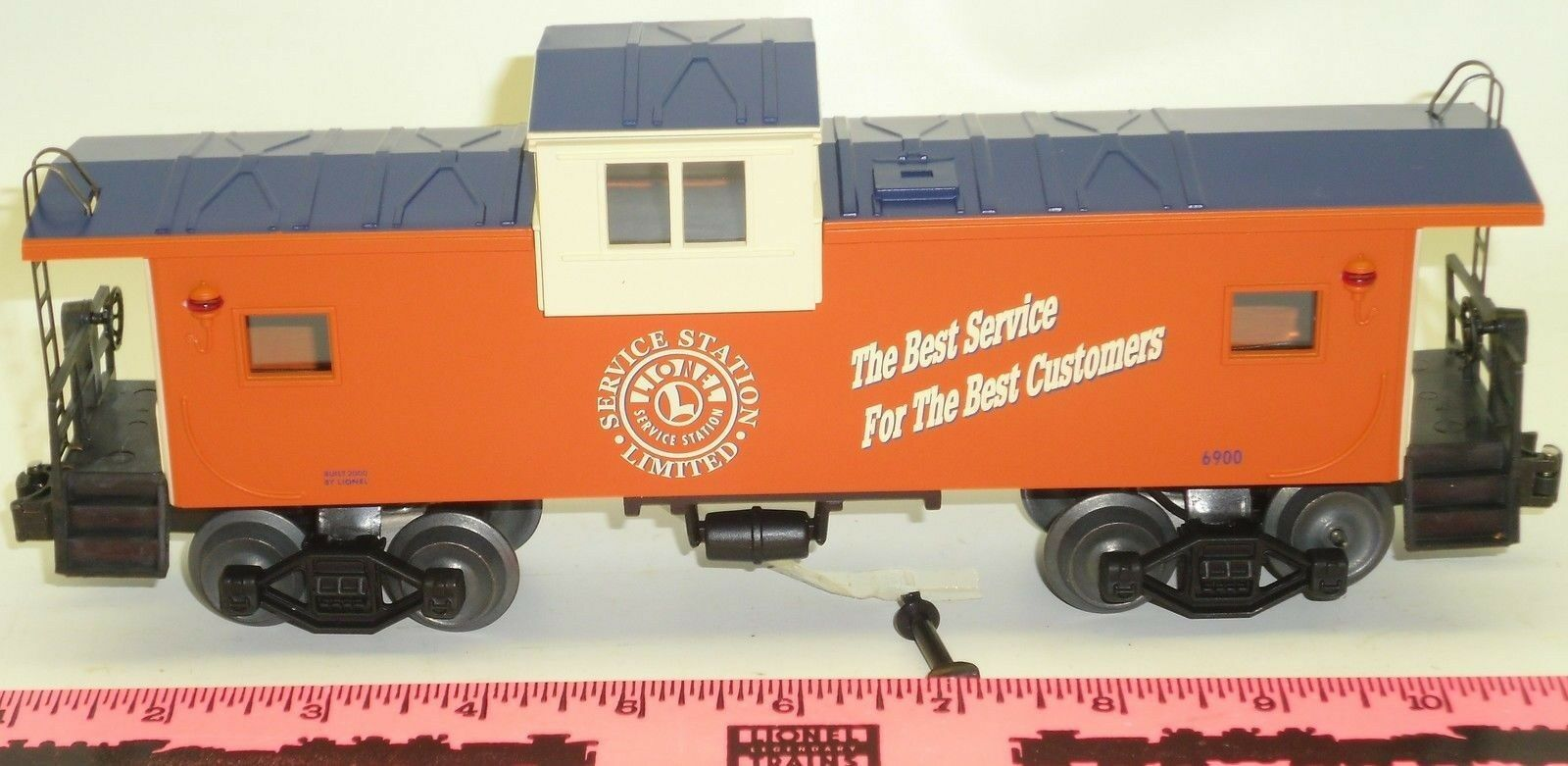 New Lionel Lionel Service Station Extended Vision Caboose  6900