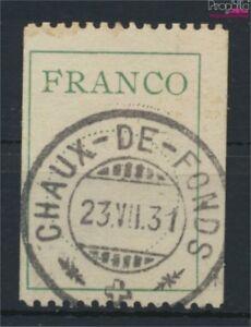 Schweiz-DF-II-kompl-Ausg-gestempelt-1925-Dienstmarke-Franco-Zettel-9045562