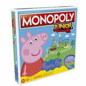 Monopoly Junior Peppa Pig español juego de mesa infantil para familia