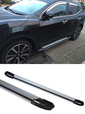 PEDANE Laterali COMPATIBILI con Audi Q3 8U 2011 in Poi SOTTOPORTA in Alluminio