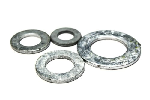 """25 Hot Dipped Galvanized 3//8/""""x13//16/"""" Structural Flat Washers"""