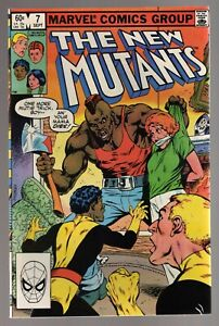 NEW MUTANTS #7 1983 CHRIS CLAREMONT X-MEN HELLFIRE CLUB BRONZE AGE VERY FINE