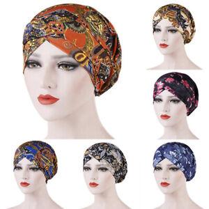 Women-Printed-Hair-Loss-Chemo-Cap-Muslim-Islamic-Vintage-Turban-Hijab-Wrap-Hat-U