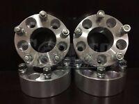 Fit Mercury 5x4.5 Wheel Spacers 2 Inch Adapters Bolt 12x1.5 5x114.3 Lug 5 Hub