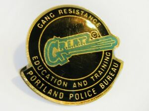 Portland police bureau great gang resistance education training