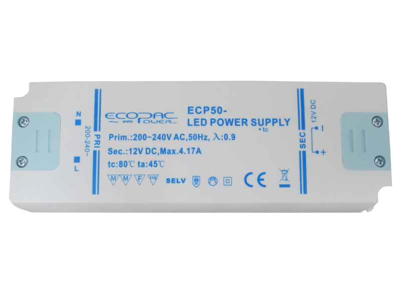DEL Driver Power Supply Dimmable Transformer & Non Dim Transformer Dimmable AC/DC 12 V 24 V C/V Strip 401106