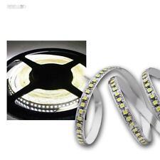 (13,34€/m) 5m LED Lichtband, 180 SMDs/m kaltweiß 12V Streifen Stripe Leiste