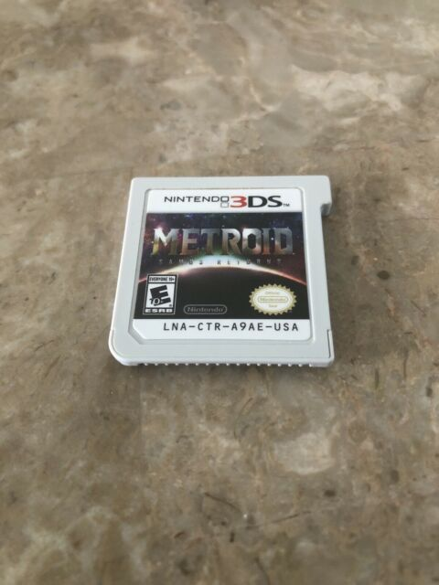 Metroid: Samus Returns (3DS, 2017) Cart Only. Fast Free Shipping