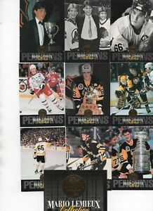 MARIO-LEMIEUX-Collection-The-Leaf-set-all-10-card