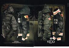 PUBLICITE ADVERTISING 104  2005  KEJO   sport blouson anorak (2p)