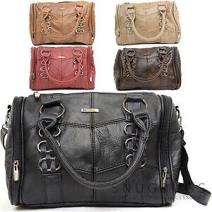 Ladies / Womens Soft Leather Handbag / Tote / Shoulder Bag