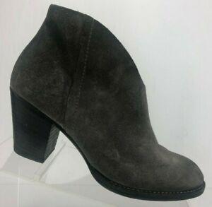 abholen letzter Rabatt Für Original auswählen Paul Green Ankle Boots Delgado Gray Suede Zip Comfort ...