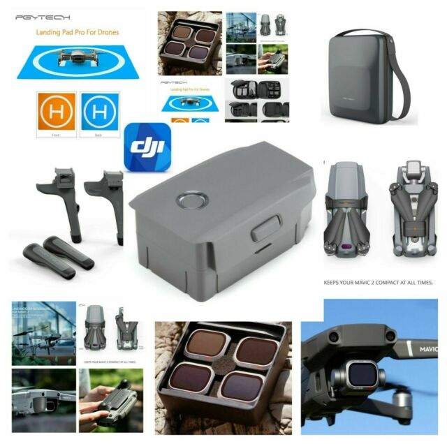 PGYTECH FLY MORE KIT FOR DJI MAVIC 2 PRO SINGLE BATTERY & MUST HAVE ACCESSORIES