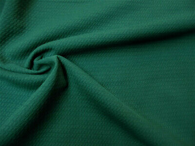 213281141d Bullet Textured Liverpool Fabric 4 way Stretch Emerald Green S21