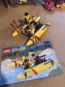 PerséVéRant Lego Vintage Ville Set 6665 River Runner Complet Avec Instructions. 1994.-afficher Le Titre D'origine Artisanat D'Art