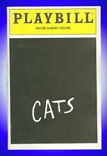 Playbill + Cats + Bonnie Simmons, Laurie Beechman, Paige Dana, Timothy Jerome